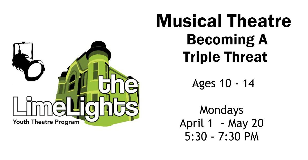 Musical Theatre: Becoming A Triple Threat Page Banner