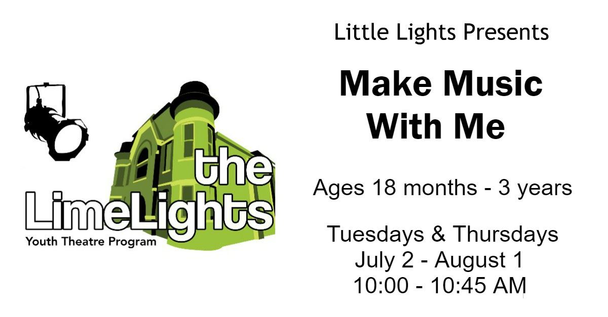 Little Lights Make Music With Me Page Banner