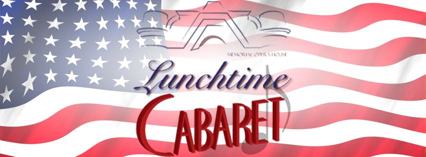 Veteran's Day Salute Lunchtime Cabaret Event Page Banner