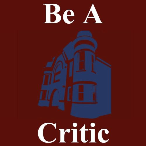 Be A Critic Logo