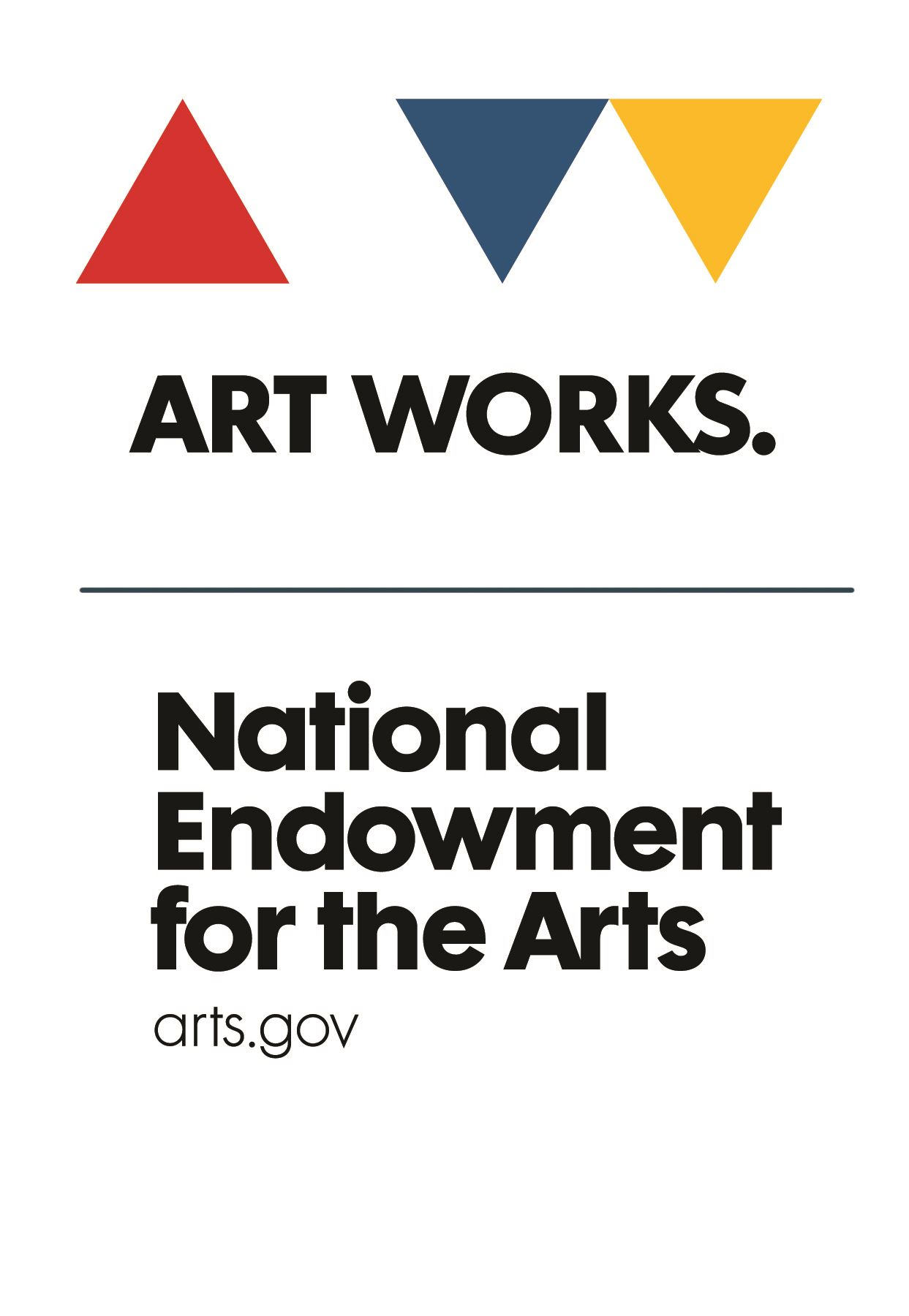 National Endowment For The Arts Art Works Logo
