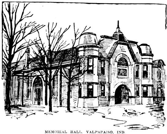 This drawing of Memorial Opera House appeared in the November 28, 1893 issue of The Daily Inter Ocea